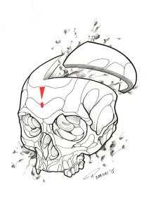 Tattoo Hamburg Totenkopf Skull