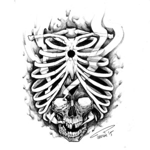 Tattoo Hamburg Skull Knochen