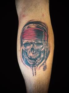 Tattoo Hamburg Pirat Realistic