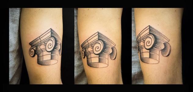Tattoo Hamburg Blackwork Dotwork