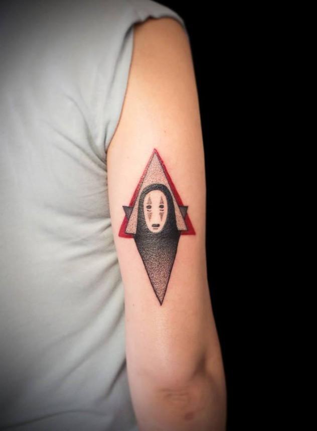 Tattoo Hamburg Anime Dotwork